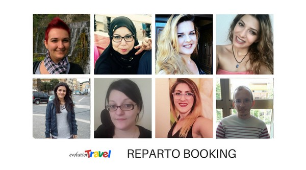 Il reparto Booking di Evolution Travel