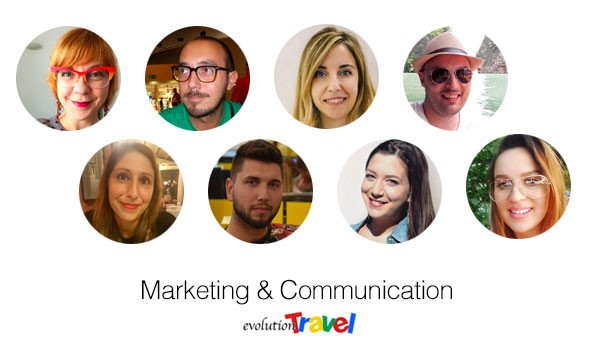 Reparto Marketing & Comunicazione di Evolution Travel