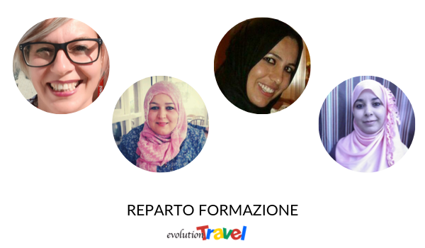 Reparto Formazione Evolution Travel