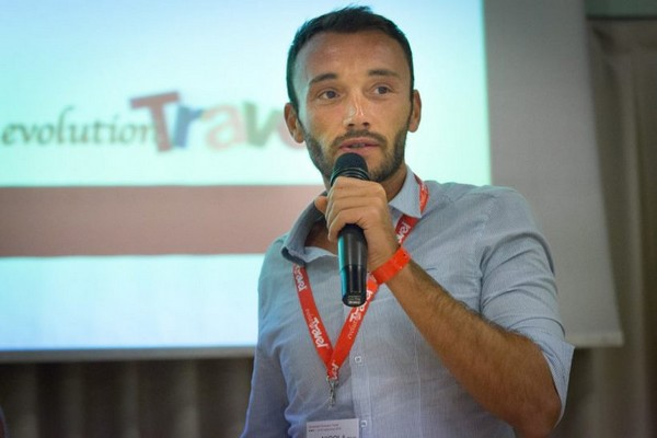 Nicola Paci di Evolution Travel